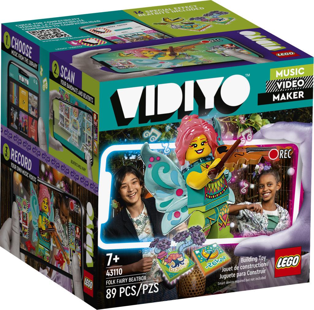 LEGO VIDIYO 43110 Folk Fairy BeatBox 1
