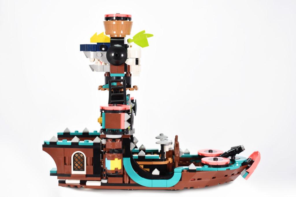 LEGO VIDIYO 43114 Punk Pirate Ship review 14