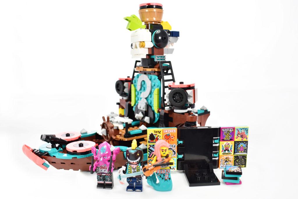 LEGO VIDIYO 43114 Punk Pirate Ship review 39