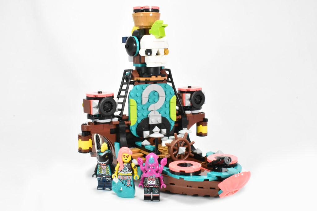 LEGO VIDIYO 43114 Punk Pirate Ship review 42