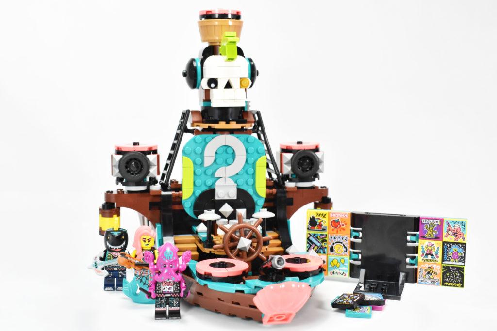LEGO VIDIYO 43114 Punk Pirate Ship review 45