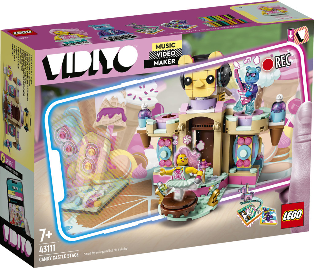 LEGO VIDIYO Candy Castle Stage 43111 Box
