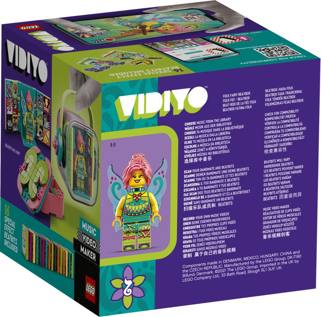 LEGO VIDIYO Folk Fairy BeatBox 43110 Box