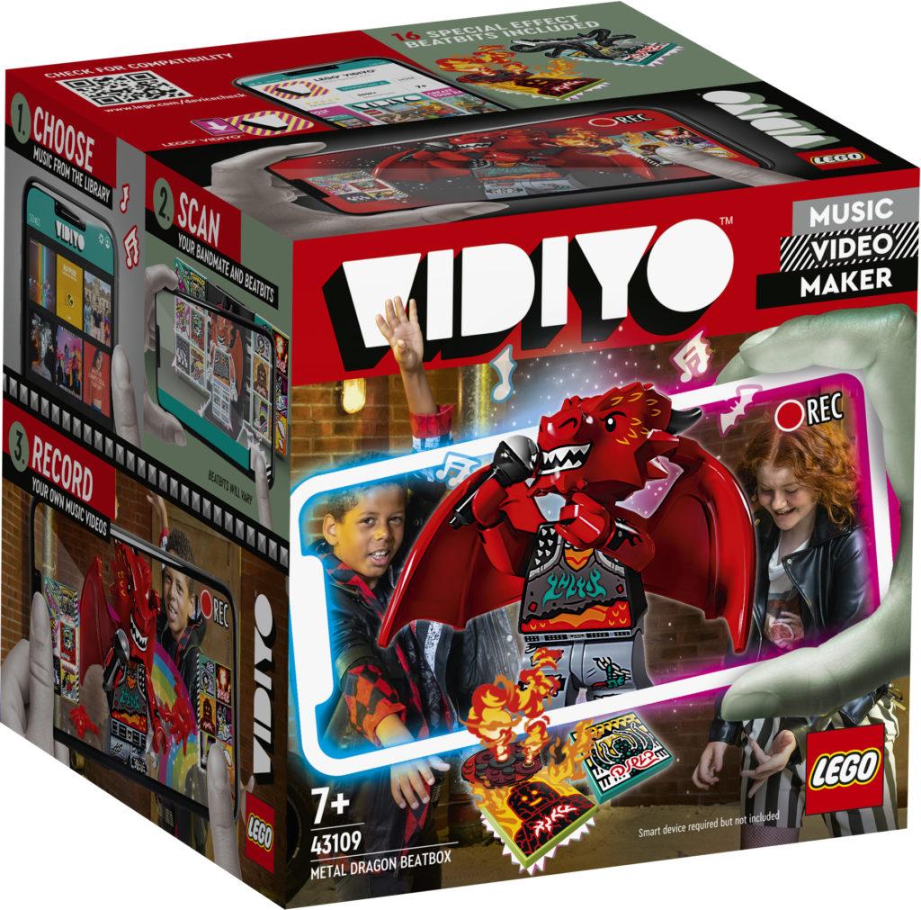 LEGO VIDIYO Metal Dragon BeatBox 43109 Box
