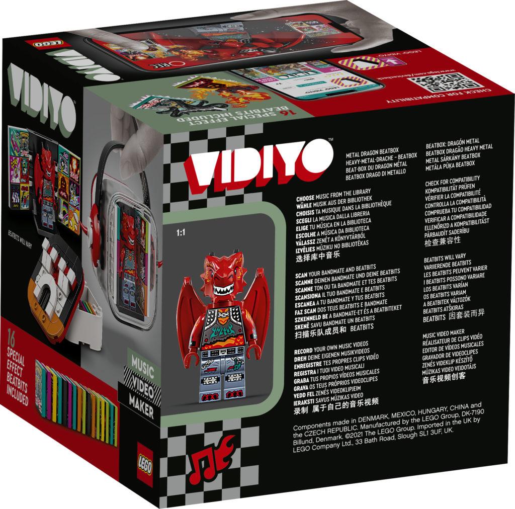 LEGO VIDIYO Metal Dragon BeatBox Box