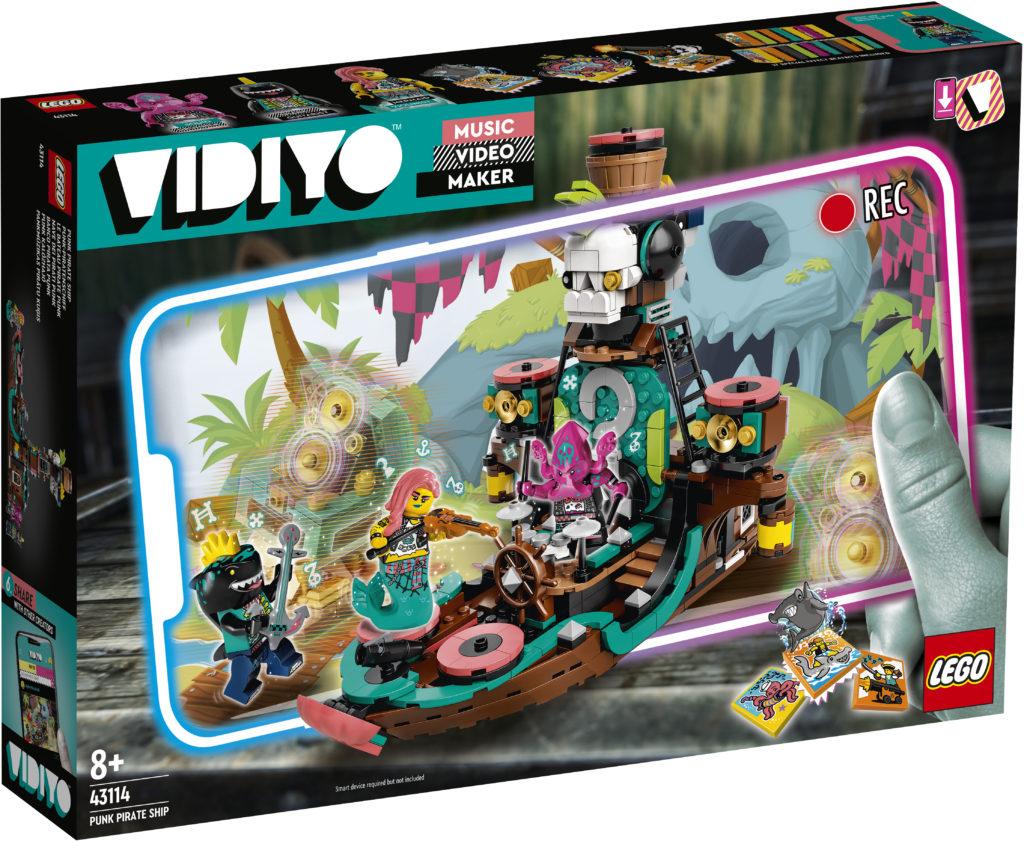 LEGO VIDIYO Punk Pirate Ship 43114 Box