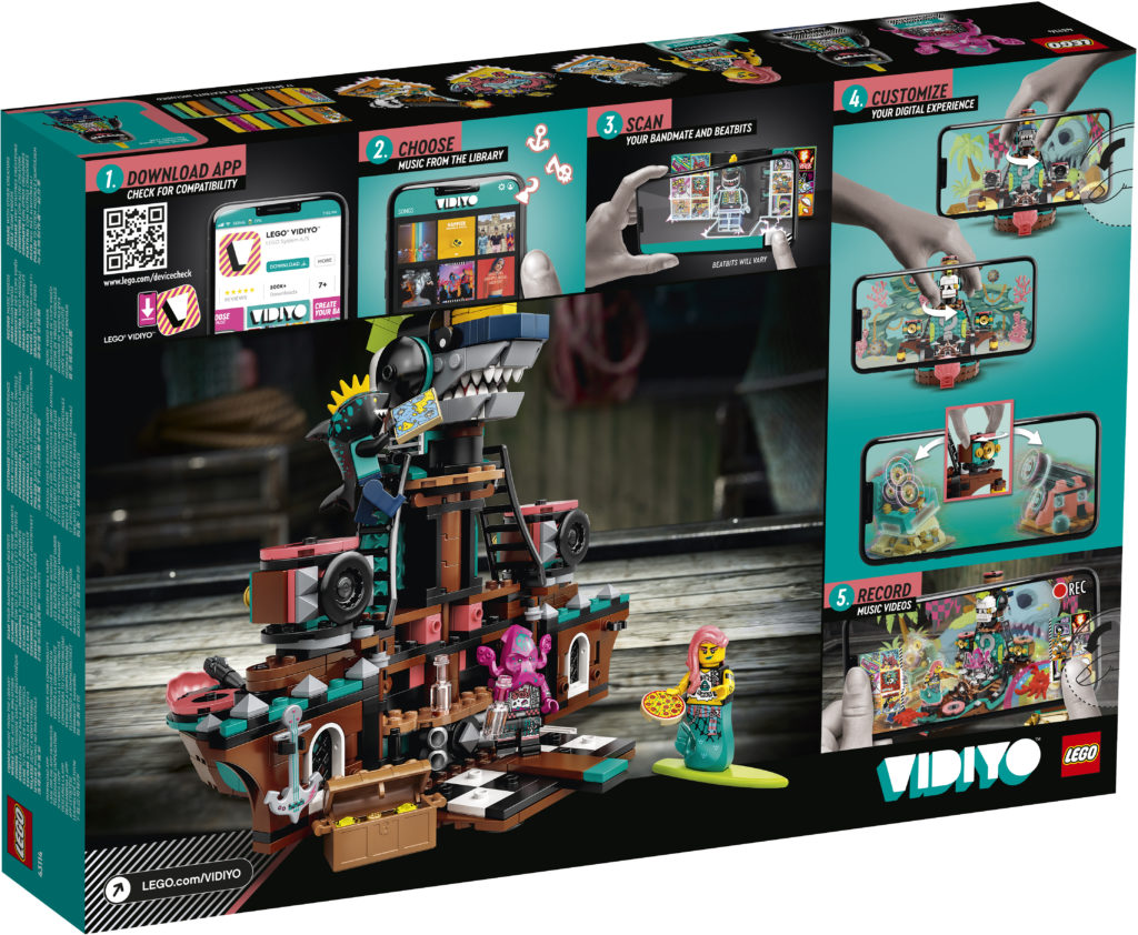 LEGO VIDIYO Punk Pirate Ship 43114 Box2