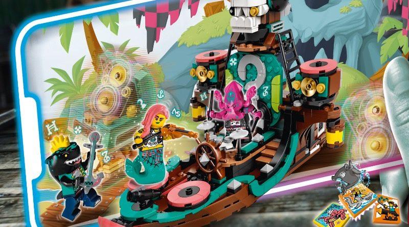 LEGO VIDIYO Punk Pirate Ship 43114 featured