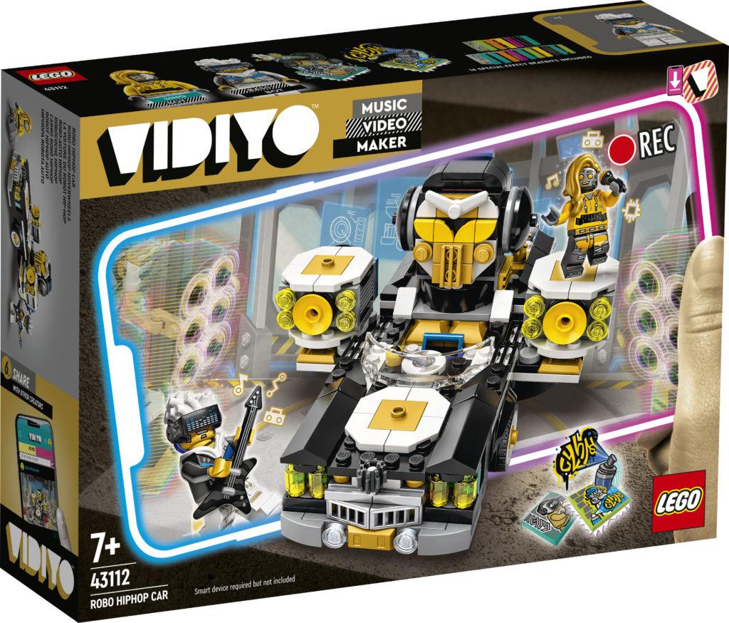 LEGO VIDIYO Robo HipHop Car 43112 Box