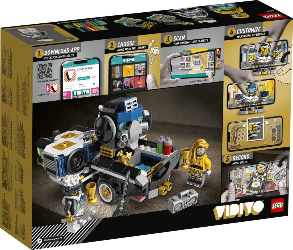 LEGO VIDIYO Robo HipHop Car 43112 Box2