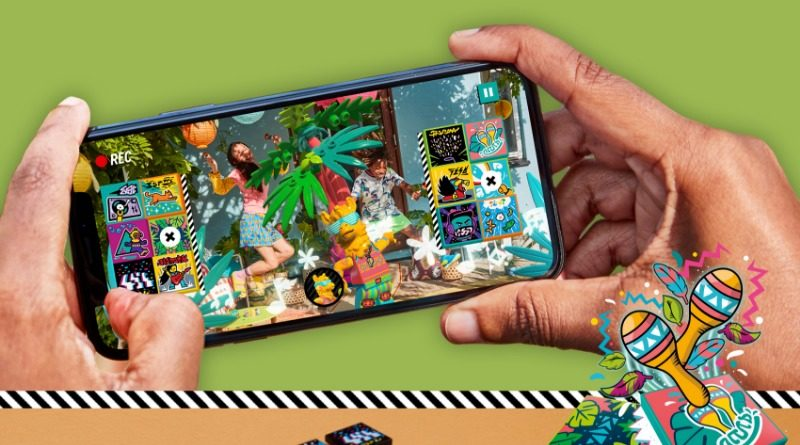See LEGO VIDIYO's augmented-reality features in action