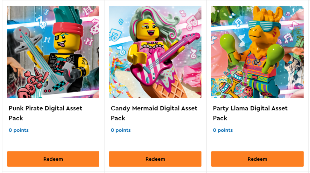 LEGO VIDIYO Vip Rewards 2 1