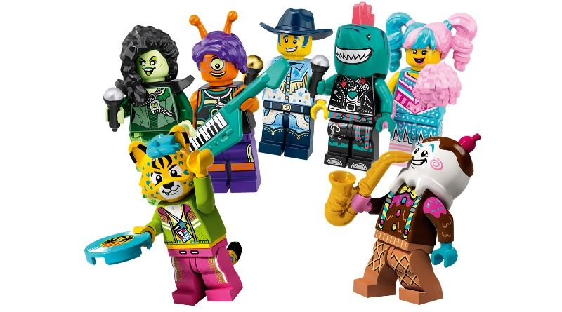 LEGO VIDIYO 43101 Bandmates Featured 800x445