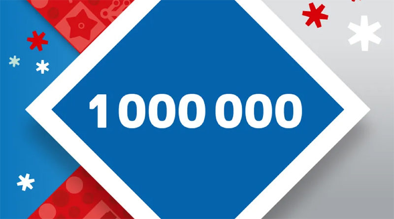 LEGO VIP 1 Million Points Featured 800x445