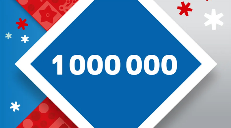 LEGO VIP 1 Million Points Featured