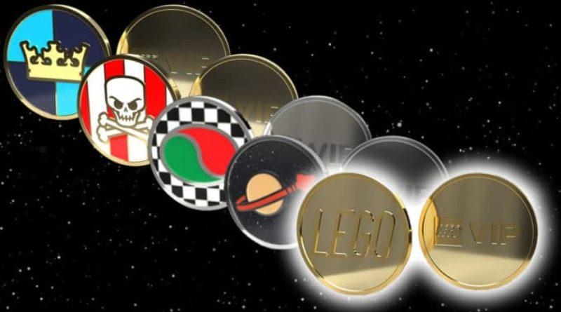 LEGO VIP Collectible Coins
