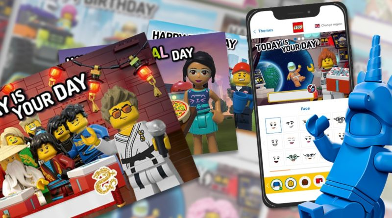 LEGO VIP Postcards featured
