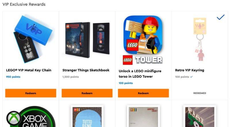 LEGO VIP Reward Centre Metal Keychain 1 featured