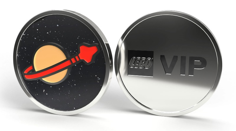 LEGO VIP Space Collectible Coin Featured