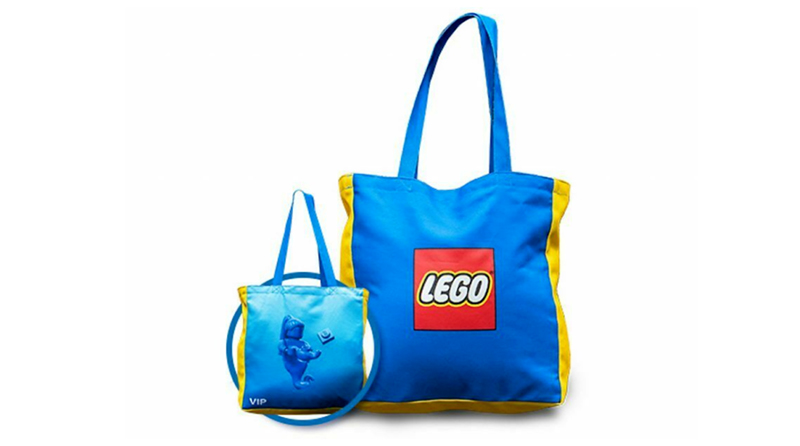 LEGO VIP Tote Bag Featured