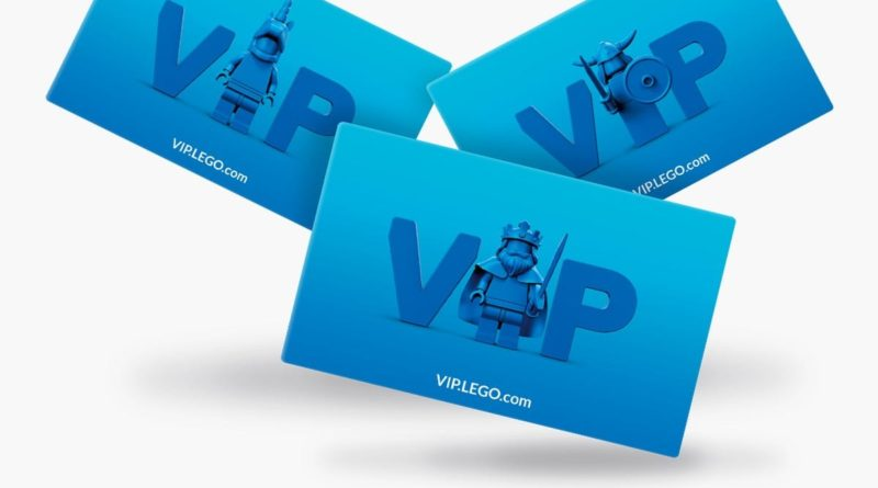 LEGO VIP cards featured 1