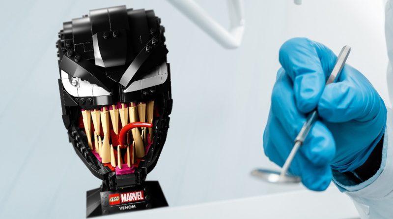 LEGO Venom Dentist display Twitter featured