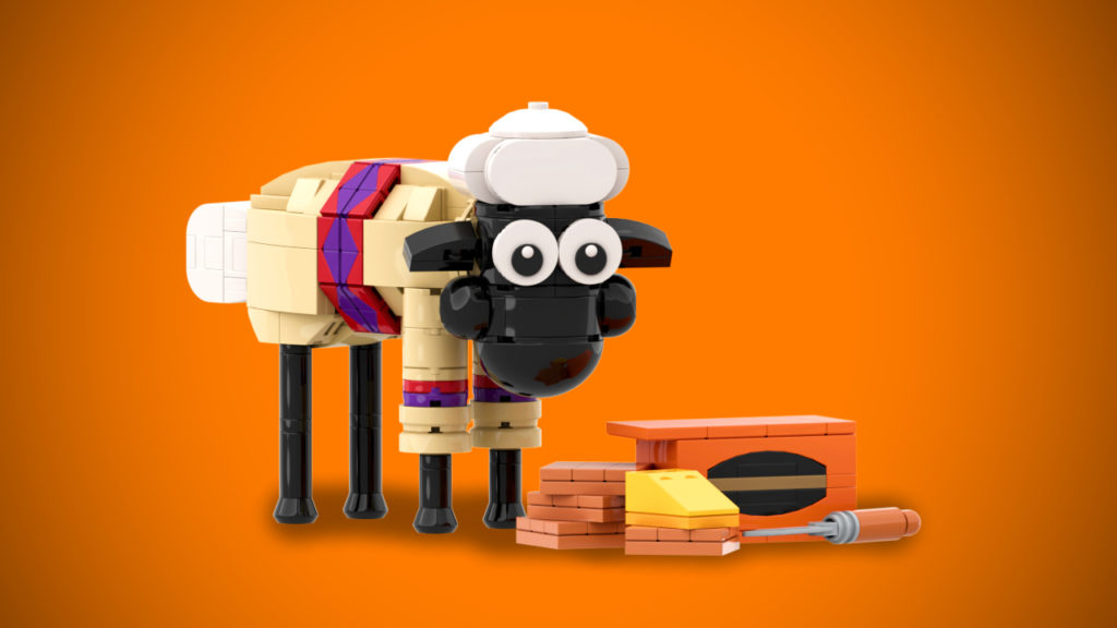 LEGO Wallace And Gromit Shaun