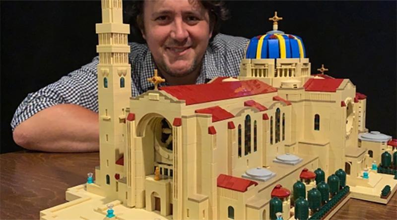 LEGO Washington Basilica Featured