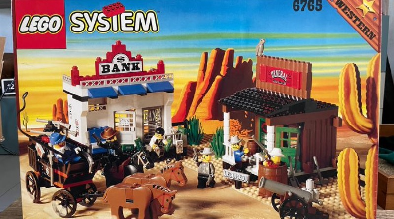 LEGO Western 6765 Gold City Junction Catawiki Featured