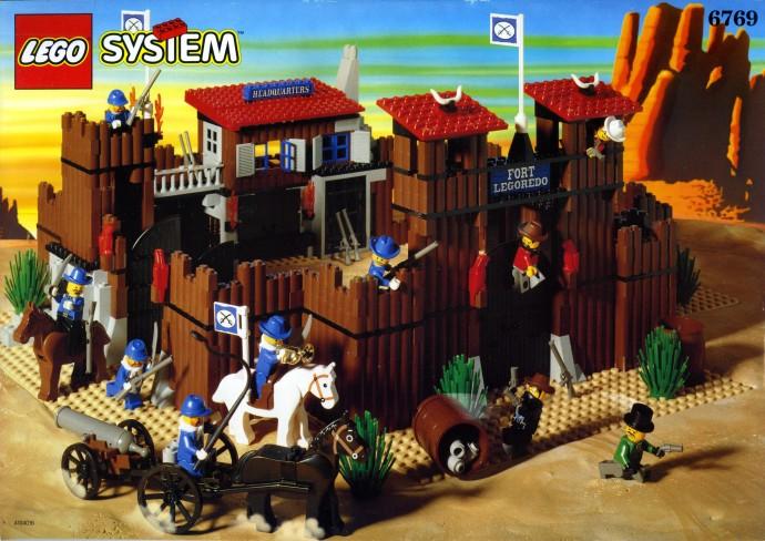 LEGO Western 6769 Fort Legoredo