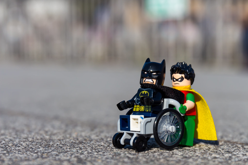 LEGO Wheelchair Batman