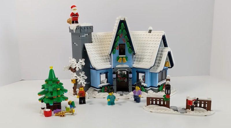 LEGO Winter Village 10293 Santas Visit first review BtB featured