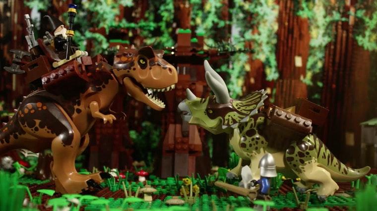 LEGO World Builder Dino Knights
