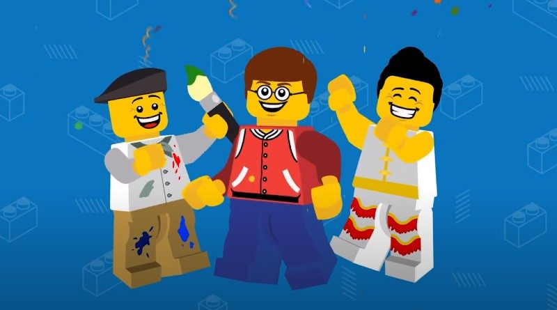 Behind the scenes of LEGO World Builder's NINJAGO short