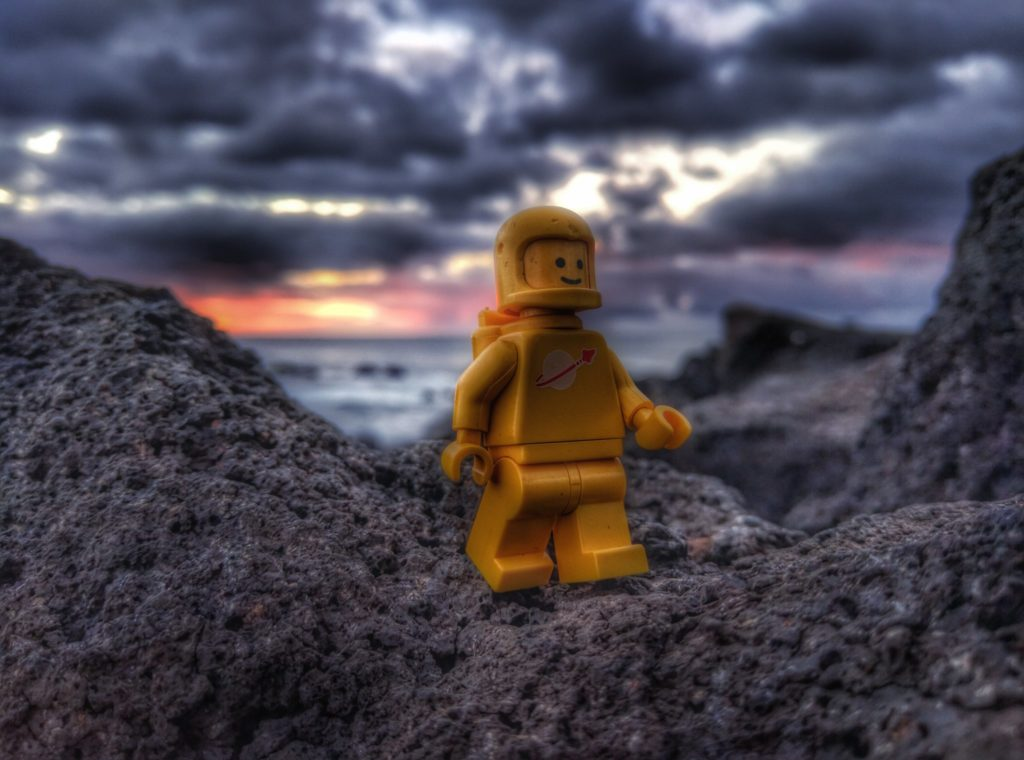 LEGO Yellow Spaceman