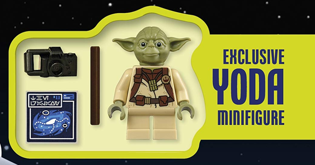 LEGO Yoda explorer star wars book minifigure