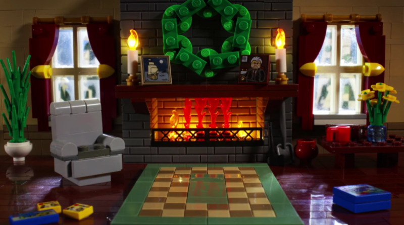 LEGO Yule Log 2020 Featured