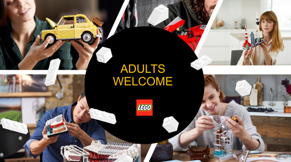 LEGO Adults Welcome Featured