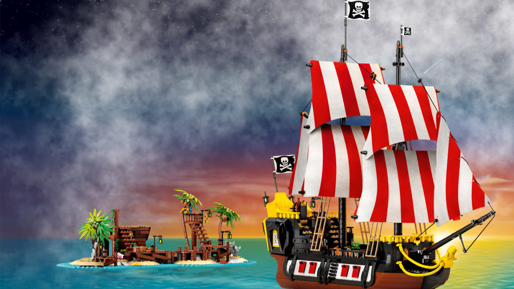 LEGO Backgrounds 21322 Pirates Of Barracuda Bay