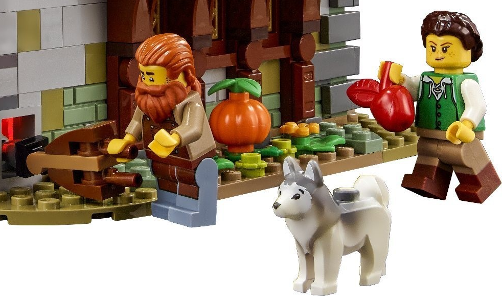 LEGO Blacksmith Husky
