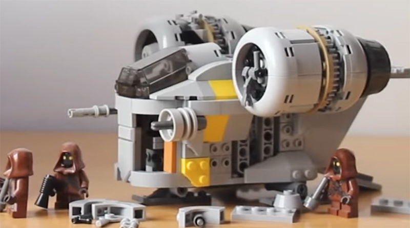 LEGO Chibi Razor Crest Featured 800x445