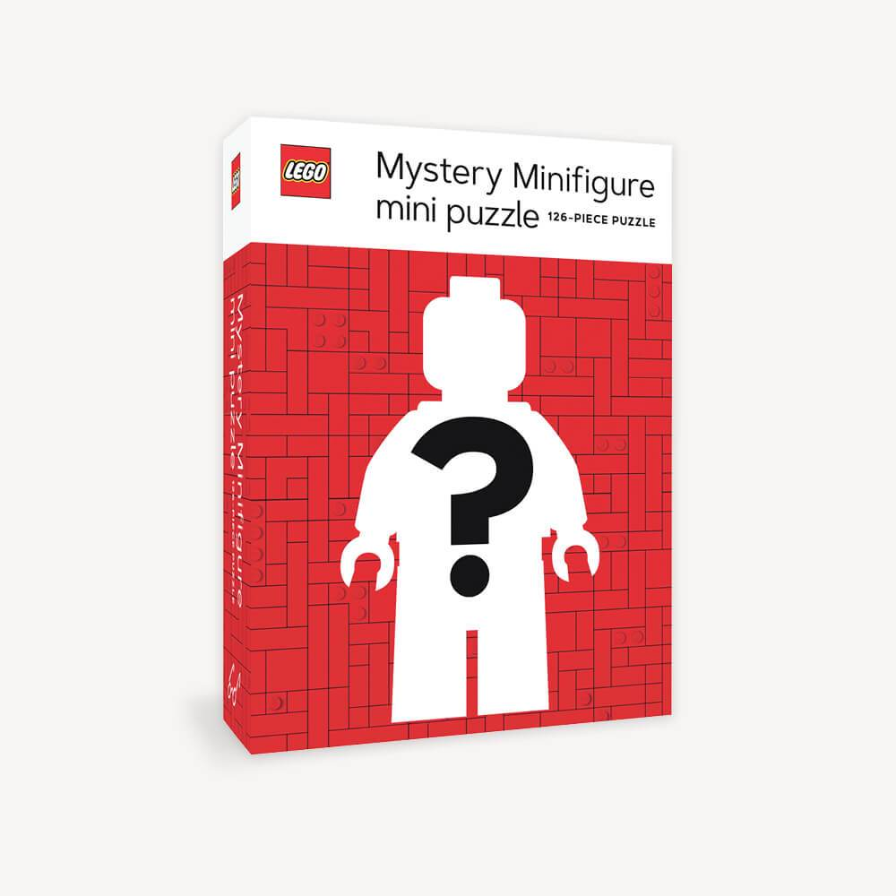 LEGO chronicle books mystery minifigure puzzle