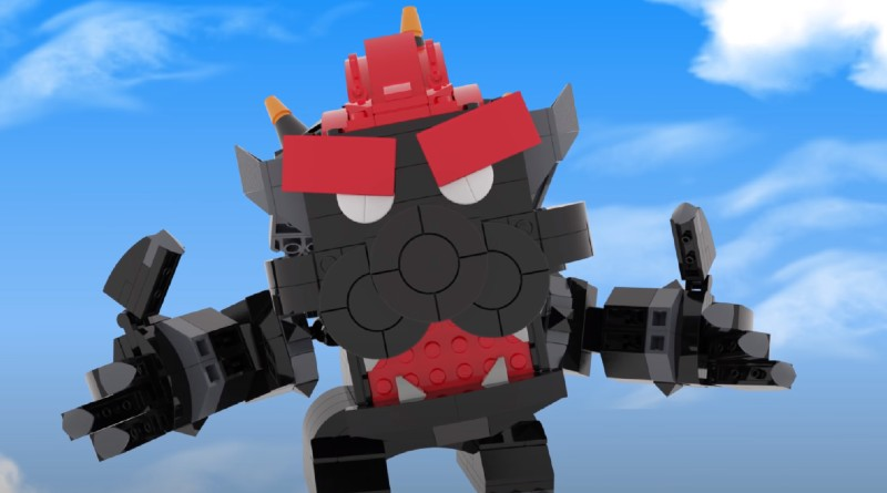 LEGO Custom Fury Bowser Featured