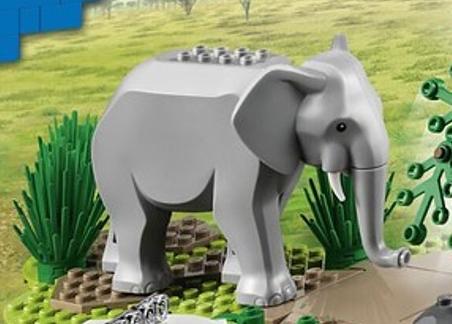 LEGO elephant city summer 2021
