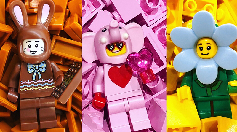 LEGO Exclusive Spring Minifigures Featured 800 445