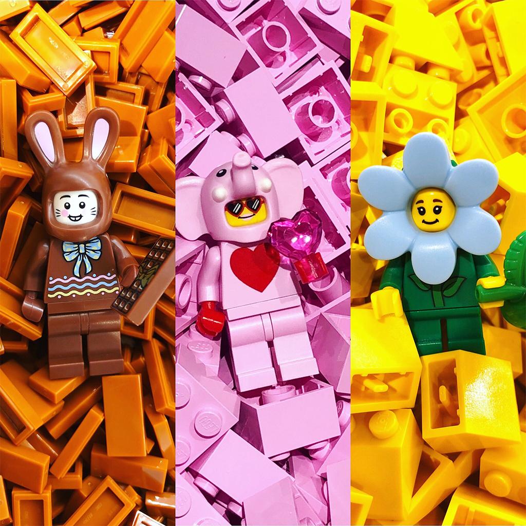 LEGO Exclusive Spring Minifigures
