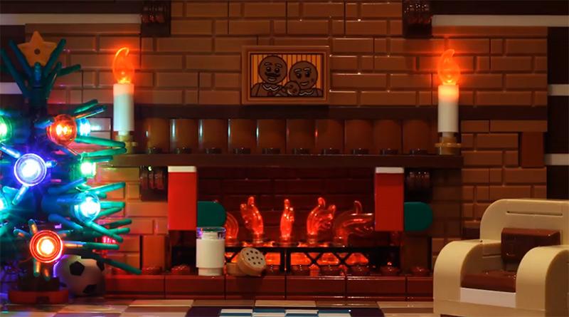 LEGO Festive Fireplace Featured 800 445