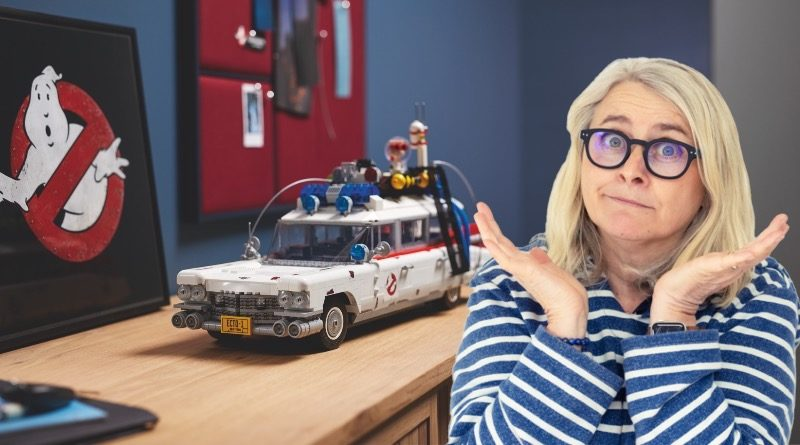 LEGO for Adults 10274 Ghostbusters ECTO 1 Emma Kennedy featured