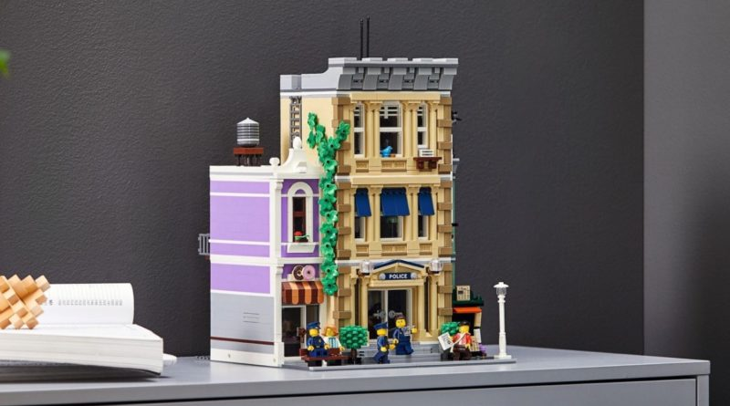 LEGO for Adults 10278 Police Station featured resized
