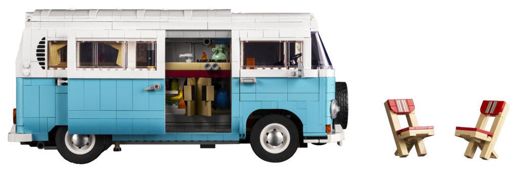 LEGO for Adults 10279 Volkswagen T2 Camper Van 28